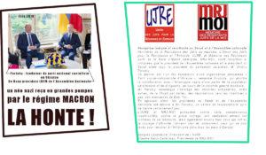 """""""indigne et révoltante"""" les associations juives dénoncent la réception de Parubiy par le régime Macron"""