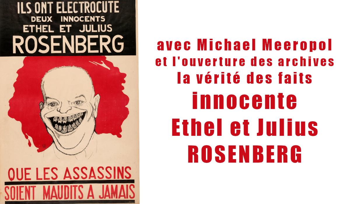 Ouverture Des Archives Michael Meeropol Innocente Ethel Et