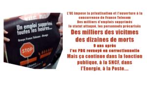 Morts à France Telecom : Didier LOMBARD sera-t-il moins condamné qu'un voleur de camembert ?
