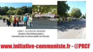 Anti-Linky, grève à ENEDIS ou ENGIE, un même combat pour le service public contre l'euro-privatisation !