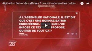 """La loi Baillon """"Secret des affaires"""" ? C'est une directive de l'Union Européenne. Eh oui… #vidéo"""