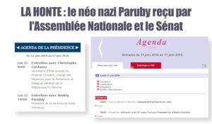 Quand un néo-nazi ukrainien «Rugy» de plaisir, la Régression est En Marche vers la fascisation!