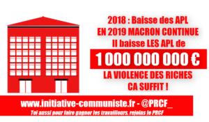 Aides APL : Macron veut les réduire pour 1 million de bénéficiaires, étudiants, retraités…