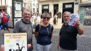Le PRCF 84 mobilisé au festival d'Avignon pour la langue française et la diversité linguistique