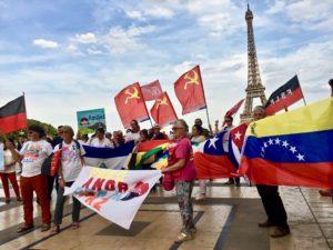 Le PRCF présent en solidarité avec le Nicaragua !