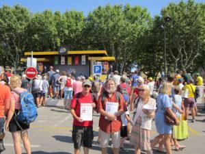 Mobilisés cet été, les militants du PRCF présents sur le Tour de France  !