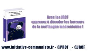 Petit dictionnaire de la nov'langue macronienne
