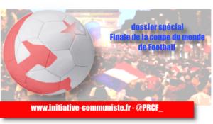 """#FRACRO """"Nous, nous ne voulons que du Football"""" Finale de la Coupe du Monde – dossier spécial #finalcdm #FINALWORLDCUP"""
