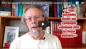 Allez les rouges : pourquoi et comment faire renaître un parti communiste en France