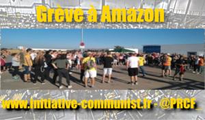 Des milliers de travailleurs d'Amazon sont en grève dans les entrepôts européens pour leurs conditions de travail