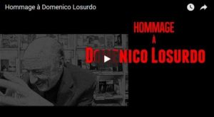Hommage à Domenico Losurdo #vidéo