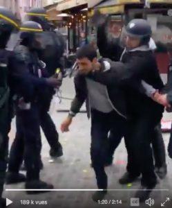 #macrongate #benalla  Cabinet caché, répression et violences policières !
