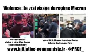 1er mai : Le responsable de la sécurité de Macron tabassait les manifestants, Macron le couvre !
