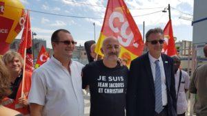 Pétition pour la réintégration de Christian et Jean Jacques éboueurs victimes de la répression du mouvement social