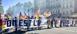 #grèveSNCF Mobilisation élevée jusqu'à 36% des TGV qui ne roulent pas !