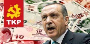 Déclaration du TKP sur la crise monétaire en Turquie