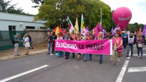 29.08.18 : Bloquons le MEDEF ! #manifestation #photos