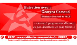 Analyses des perspectives de la rentrée 2018 : entretien avec Georges Gastaud