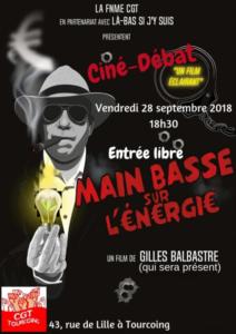 Main basse sur l'énergie – le dernier documentaire de Gilles Balbastre en avant première le 28/09