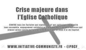 Crise majeure dans l'église catholique