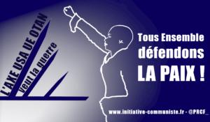 #11nov Ni OTAN, ni armée européenne arrimée à l'OTAN ! – Par G. Gastaud .