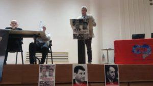 Discours de Georges Mavrikos à Paris lors de l'hommage de la FSM à Louis Saillant et Pierre Gensous