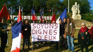Châteaubriant : Les JRCF sauvent la mémoire, l'honneur et la dignité des 27 fusillés du 22 octobre 1941