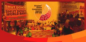 Malgré la répression et l'interdiction, les peuples debout contre le FMI en Indonésie