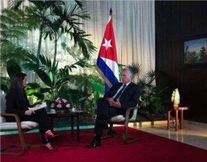 Cuba : entretien avec Miguel Diaz Canel