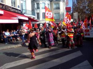 #Paris Solidarité avec les grévistes de l'Hôtel Park Hyatt Vendôme