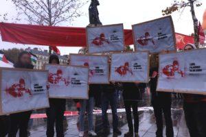 Mobilisé pour le Venezuela Bolivarien, le PRCF solidaire du PCV.