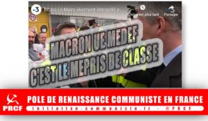 #Giletsjaunes : des usines aux campagnes le mépris de classe du régime Macron #vidéo [Ecoutez les ouvriers de PSA Mulhouse]