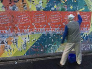 Affichage, tractage : le PRCF 69 mobilisé pour la solidarité antifasciste et défendre les travailleurs
