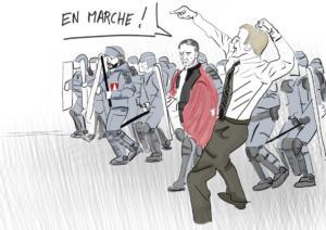 Traque des chômeurs, arrestation d'Eric Drouet, l'offensive antisociale nourrit la fascisation macroniste !