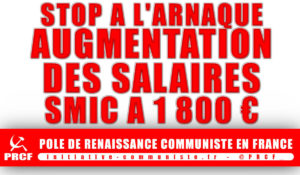 Macron arnaque les travailleurs et refuse d'augmenter le SMIC, les salaires, les retraites
