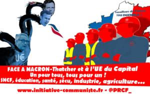 Les réponses de la Macronie : enfumage et violence !