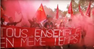 MACRON DETRUIT LA JEUNESSE  : l'appel à la résistance des JRCF #Tract
