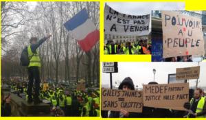 #ActeXIV les #GiletsJaunes contre la répression pour la dignité des travailleurs et la souveraineté du peuple