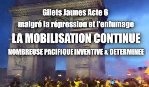 #Acte6 des #giletsjaunes Forte mobilisation partout en France
