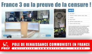 Ce que cache la censure de France 3 : A Monville répond aux questions de Russia Today .