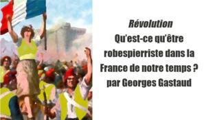 Qu'est-ce qu'être robespierriste dans la France de notre temps ? par Georges Gastaud