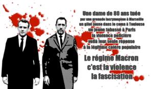Zineb Redouane, Geneviève Legay,… il faut stopper les violences du régime Macron UE MEDEF #acteXXIII #giletsjaunes