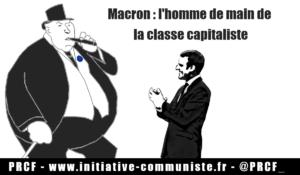 Le régime Macron préfère stranguler les libertés plutôt que de répondre aux revendications de justice sociale et de souveraineté populaire !