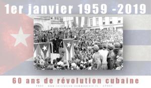 Le PRCF salue les 60 ans de la révolution cubaine !
