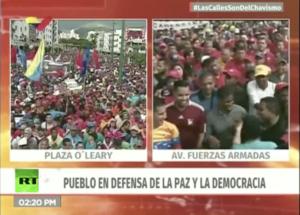 Solidarité de combat avec le Venezuela bolivarien et le président démocratiquement élu, Nicolas Maduro !