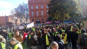 Mobilisation en hausse pour l'#acteVIII des #GiletsJaunes !