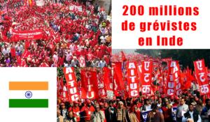 En Inde la plus grande grève de l'histoire ! #workersstrike