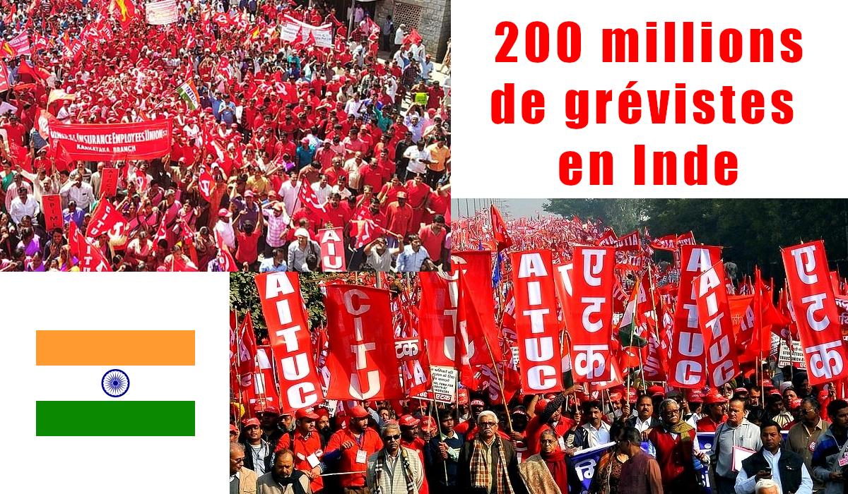 En Inde la plus grande grève de l'histoire ! #workersstrike - INITIATIVE  COMMUNISTE