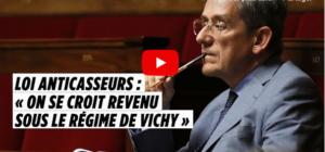 Veronique Riotton : la fascisation En Marche jusque sur les bancs de l'Assemblée Nationale