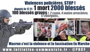 Jacques TOUBON, le Défenseur des droits, exige l'interdiction des flashballs !…